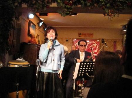 河村利夫先生のライブにて