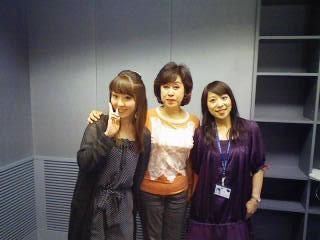 フレッシュで素敵な感性の持ち主・東海ラジオのアナウンサー「山口由里さん」左と、きらきらと輝く聡明な瞳が印象的な「大竹蘭子さん」右