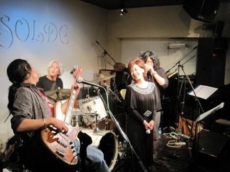 BE BLUS UNIT(ブルースたれ!)with 花岡献冶お忍びツアー東京Live